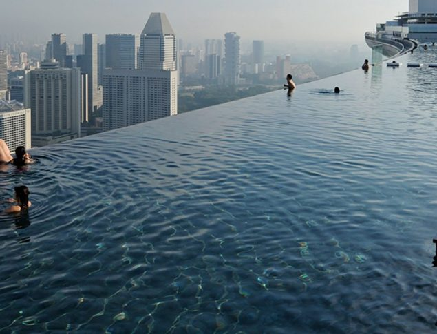 Marina Bay Sands Pool Hotel Amp Resort Pools Natare
