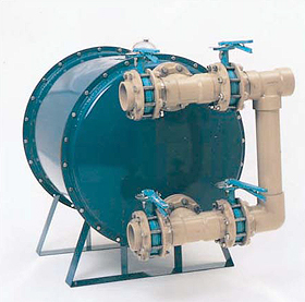 MicroFlo Hi-Rate Horizontal Sand Filter
