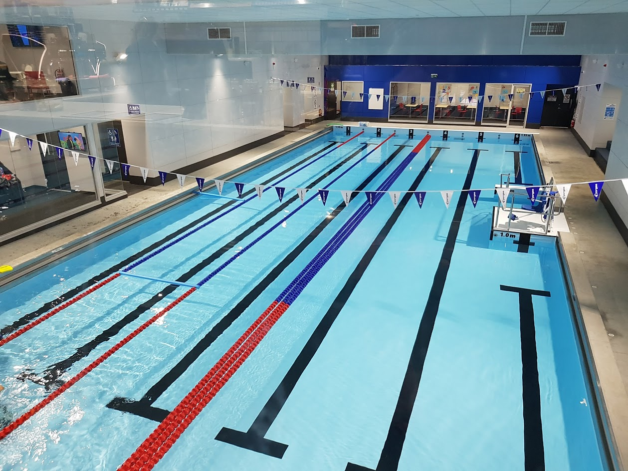 Findon Swim School Installs Natare Stainless Steel Lap Pool
